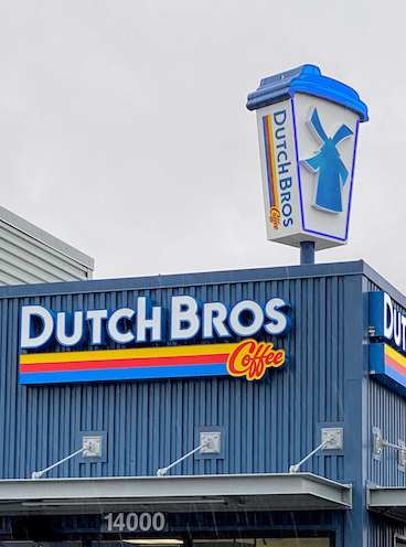Dutch Bros Stand Image