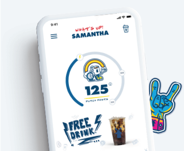 Dutch Bros App Screenshots and Stickers