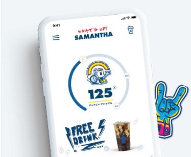 Dutch Bros App Screenshots and Stickers