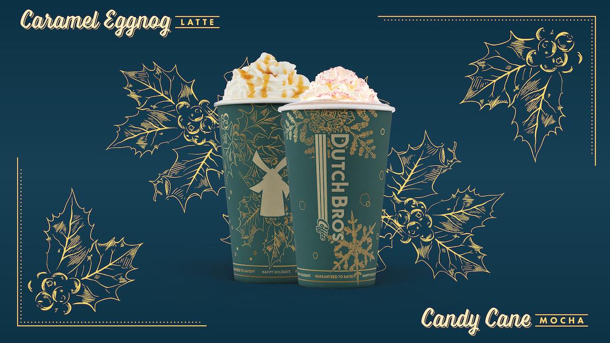 Caramel Eggnog Latte. Candy Cane Mocha.